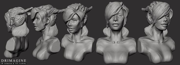 #animacja3d  #modeling #drimagine #szkołaanimacji3d #maya #autodesk  #hardwork #animacion3d #mudbox #sculpting