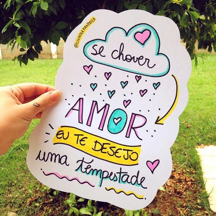 Vemmmm  chuva!!!!  💙🌧💗🌧💛  #chuvadeamor #boatarde #chuva #frasedeamor #pensamento #mensagem #frasedehoje #frasesdobem #love #rain #cute #sketch #doodle #desenho #design #frase #pensamentododia #marcadores #copic #ilustra #ilustracao #pandoca