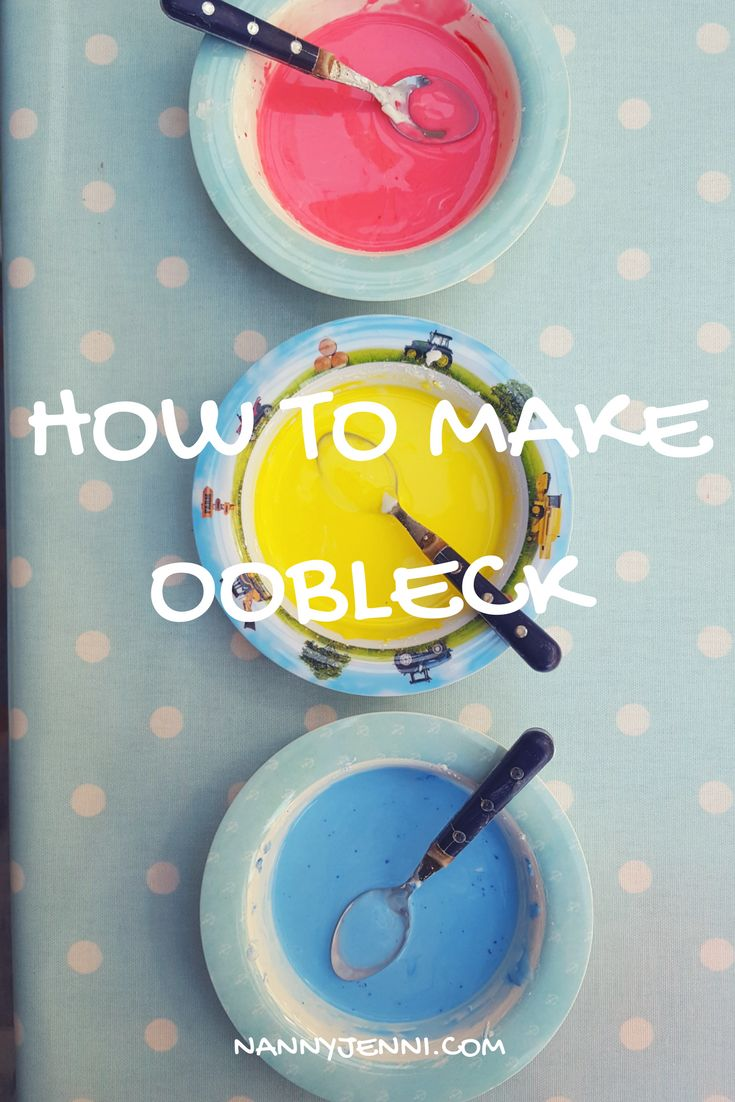 Come and take a look how you can make Oobleck for your children! A fun sensory play activity for young children and babies! Another name it goes by is Gloop!