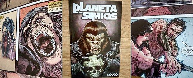 #DiaDelLibro lectura recomendada, cómic de #ElPlanetaDeLosSimios de Aleta Ediciones http://www.edicioncoleccionista.com/resena-comic-el-planeta-de-los-simios-aleta-ediciones/