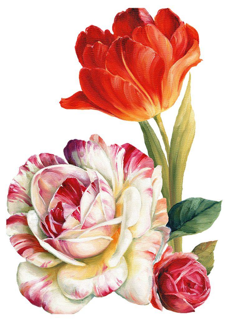 Çiçekler PNG Clipart_Lisa Audit_(69 Adet)   Dekupaj Desenleri