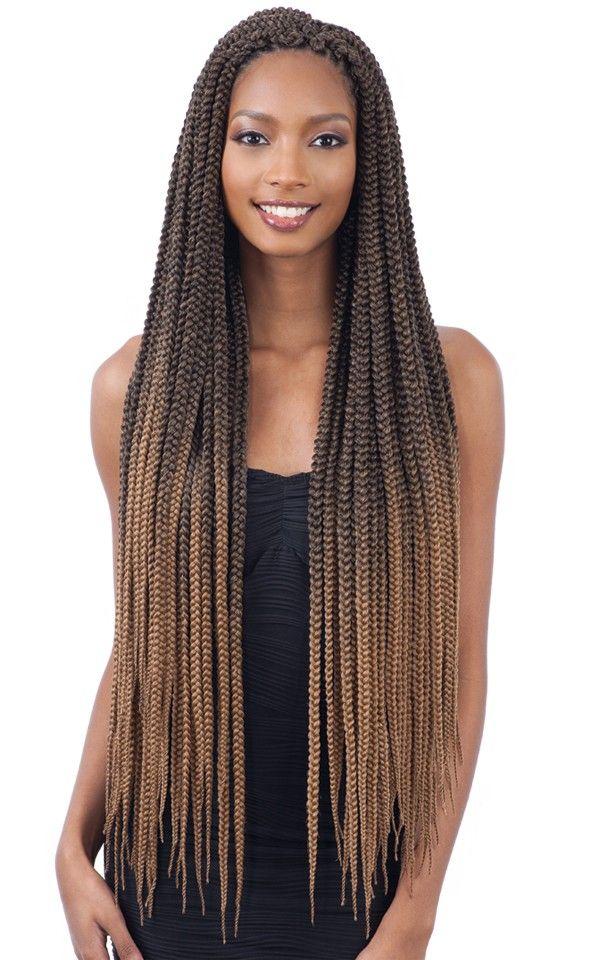 Freetress Crochet Braid 2X LARGE BOX BRAIDS 30 Inch – Hair styles