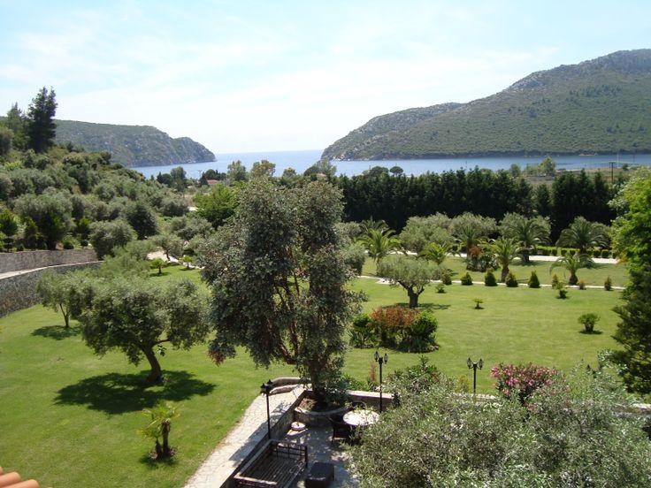 Amaryllis, terrace view @ Porto Koufo Resort
