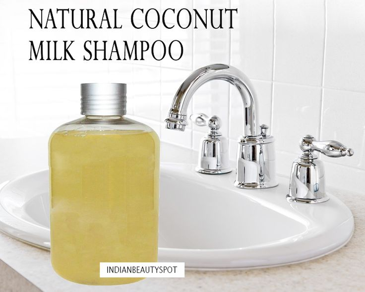 Natural Coconut Milk Shampoo. Simple!! Castile soap, coconut milk, vitamin E oil, lavender oil. And that is IT!