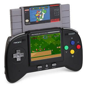 Retro Duo Portable NES/SNES Game System...WANT!!!
