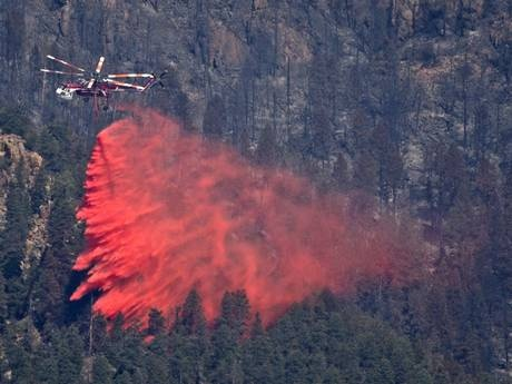 Four dead in fire-fighting plane crash