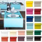 24 Meter Duni Tischläufer, 40 cm Breite in 20 Farben