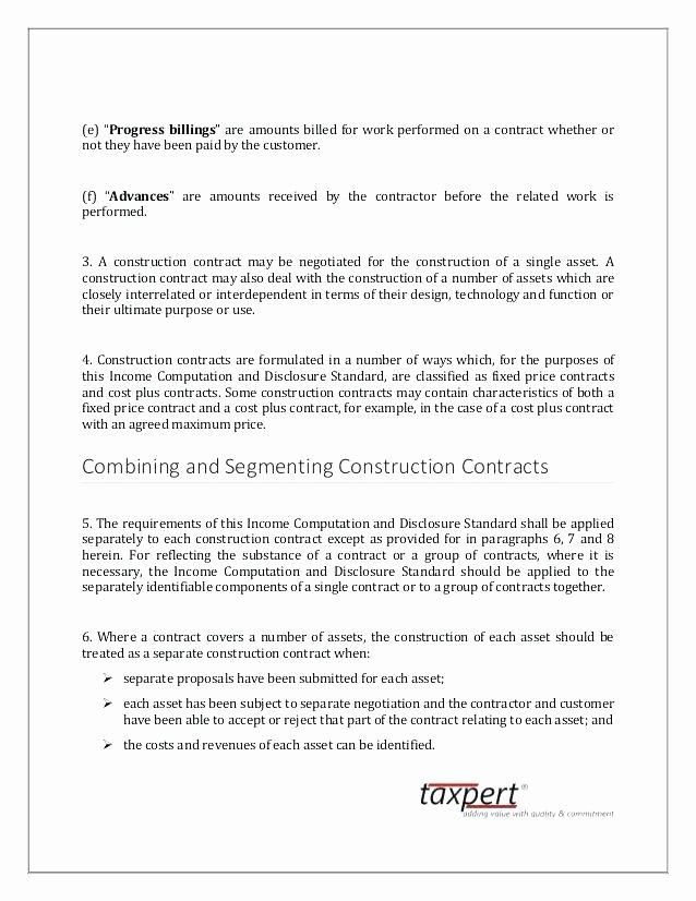 50 Inspirational Fixed Price Construction Contract Template In