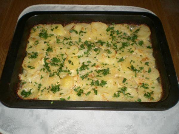 Kuracinka zapekaná so zemiakmi