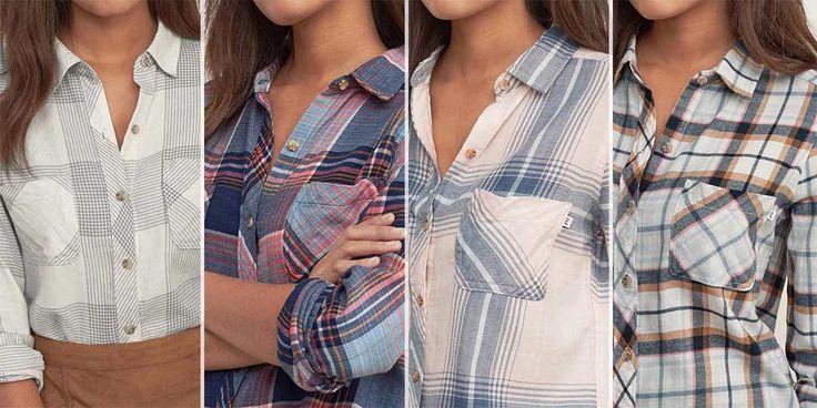 #Фланелевые рубашки #Abercrombie