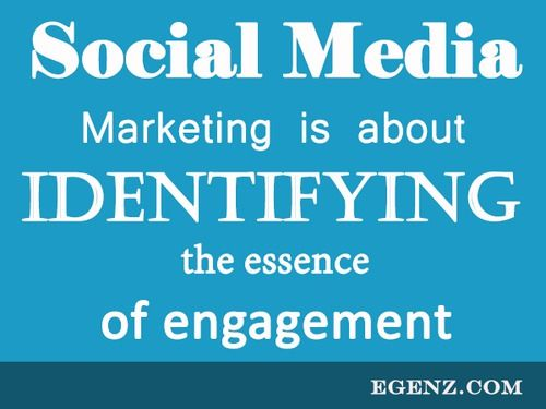 Social Media marketing is about identifying the essence of engagement.  We also provide services such as Malaysia Website Design, Web Development Kuala Lumpur, Groupon Website, Auction Website, Ecommerce, SMS Blast Malaysia, Internet Marketing, SEO, Online Advertising Malaysia and etc. For more information, please visit our website www.Egenz.com or call us now +603-62099903. | egenz