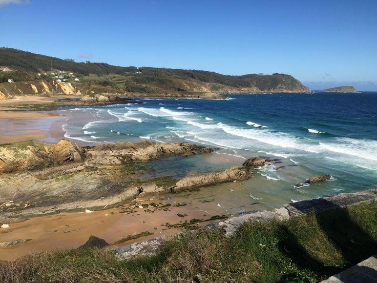 Playa de San Román, O Vicedo, Lugo