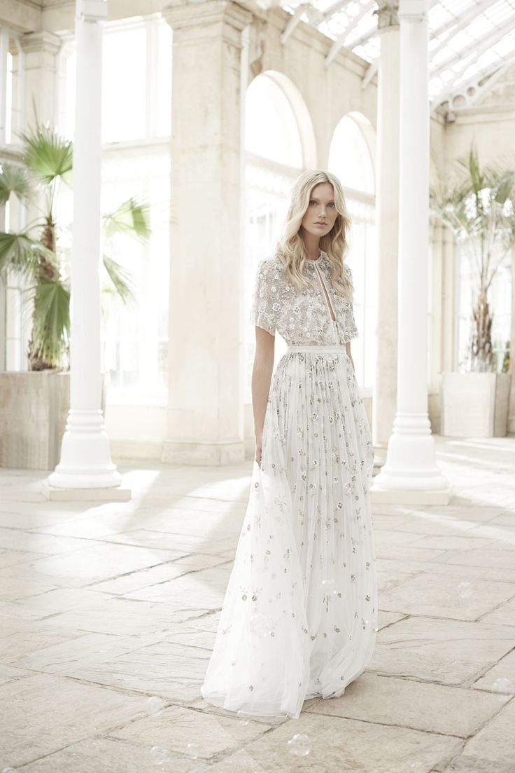 Wonderfully Romantic Wedding Dresses: The Needle & Thread Spring/Summer 17 Bridal Collection