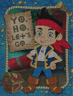 Jake Yo Ho Let's Go Crochet Pattern