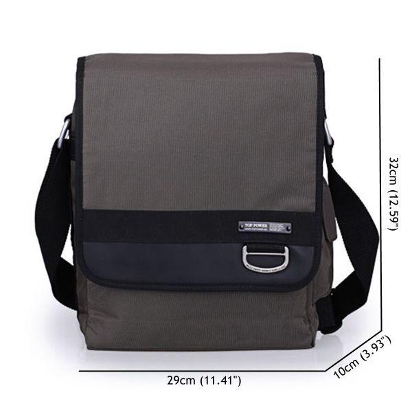 Men Business Shoulder Bag Messenger Bag Briefcase Casual Crossbody Bag