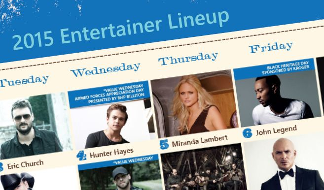 The lineup for the 2015 Houston Rodeo is out, and some amazing artists will be performing! #TexasToDo