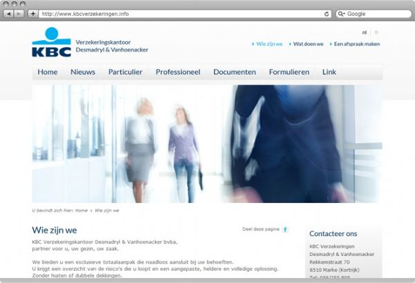 KBC Verzekeringen uit Marke  http://www.publi4u.be/nl/realisaties/cms-website/kbc-verzekeringen-uit-marke.htm