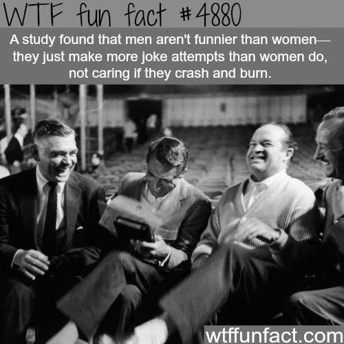 Why men are funnier than women?
