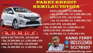 Kredit Agya Bandung