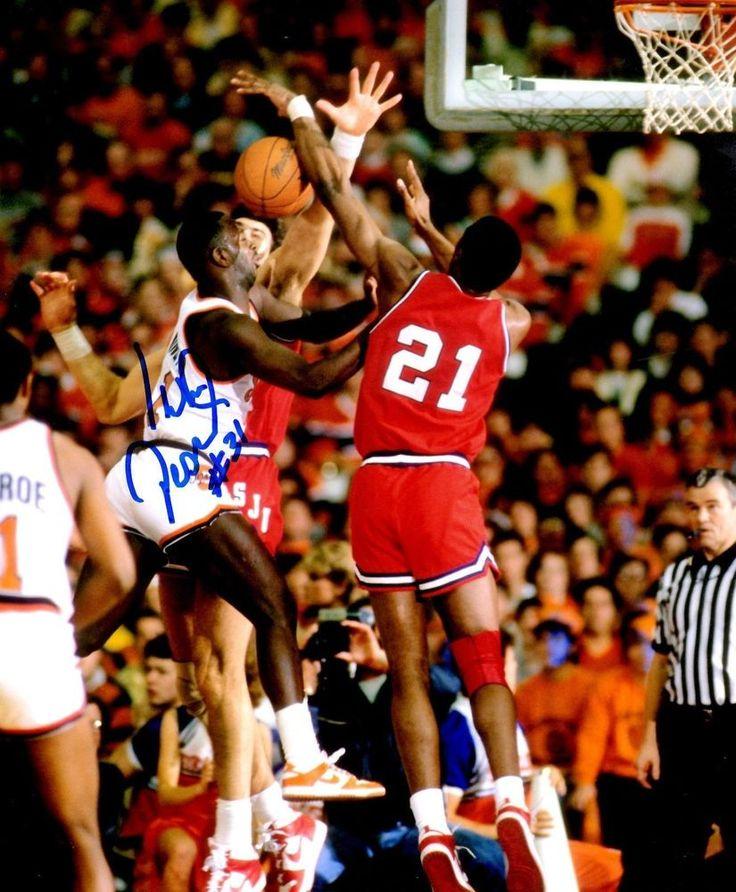Hand Signed PEARL WASHINGTON 19831986 Syracuse University