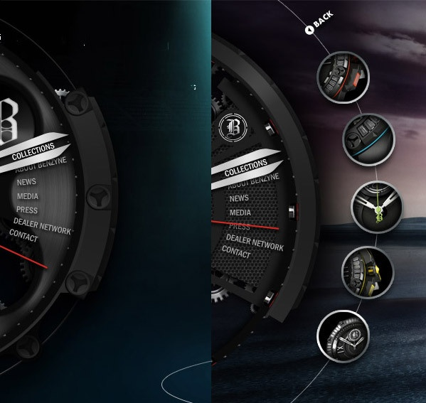 Benzyne watches by Vladimir Jankovic, via Behance