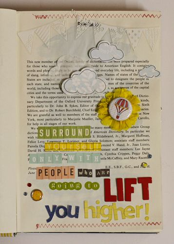 quotes about hot air balloons   Quotes & Flair - Color Me Happy...also such a cute idea for scrapbooking.