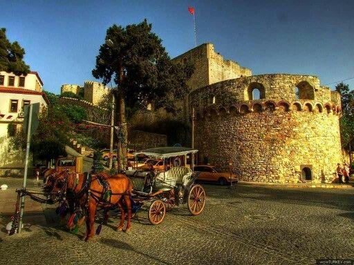 Cesme Castle in Cesme, Turkey