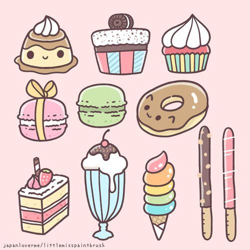 food doodles   Work-Related FUN!   Pinterest