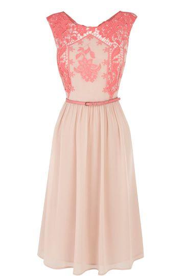Lucinda Embroidered Midi Dress