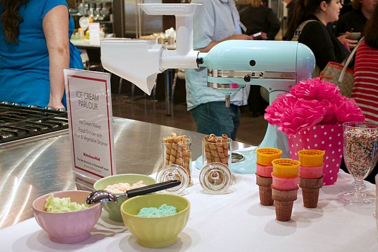 KitchenAid Canada #Attached2KitchenAid Event - Sober Julie Doing Life Would love this Blue Mixer
