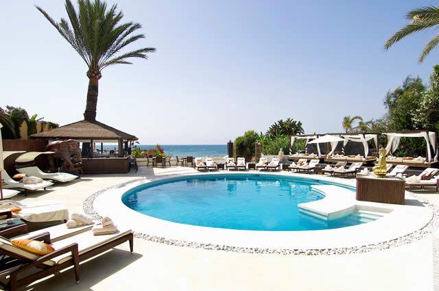 Chic beach club in Marbella, Spain Costa del Sol  www.lasalabythesea.com