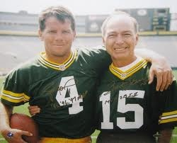 Bart Starr and Brett Favre- My favorite picture of all time!