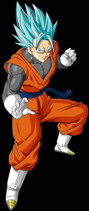 Super Saiyan God Vegito from Dragon Ball Super anime