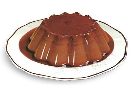 dulces para diabeticos flan de chocolate