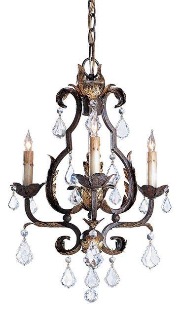 Tuscan Chandelier Lighting 3E | Currey & Company
