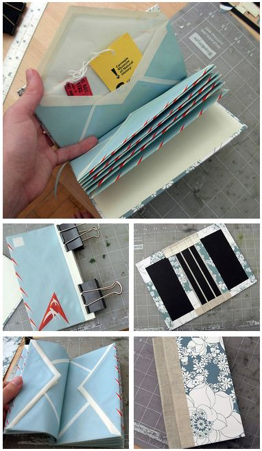 DIY: Make An Envelope Book (by donovanbeeson)