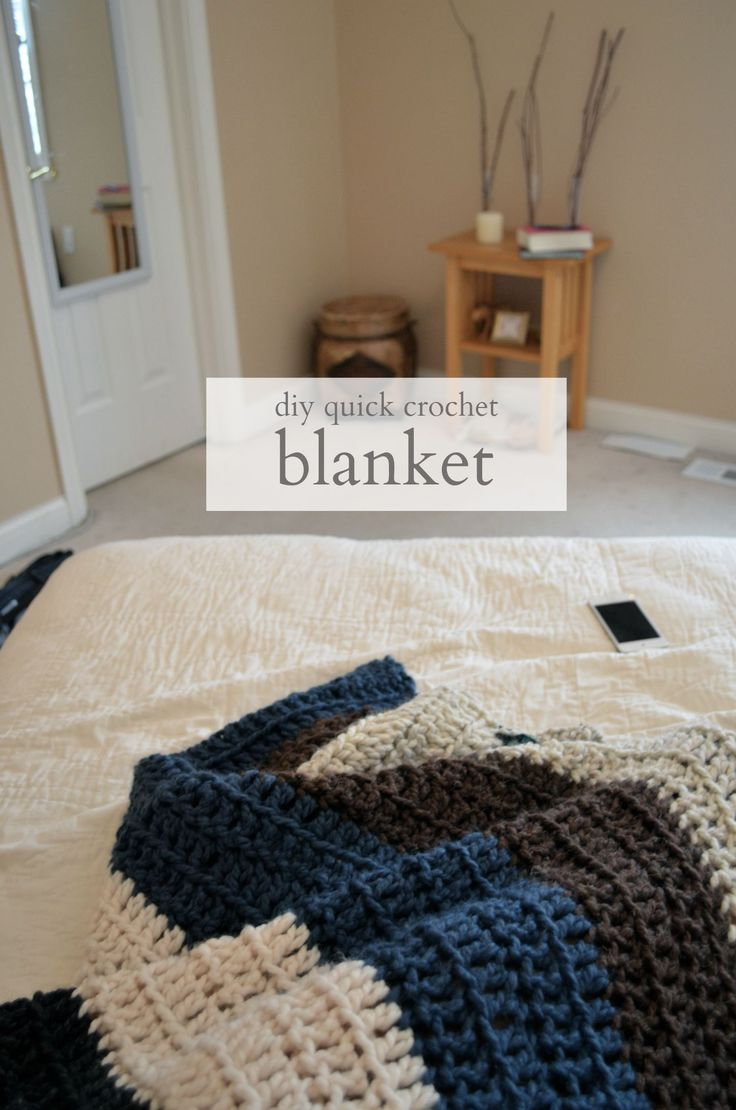 crochet blanket one day