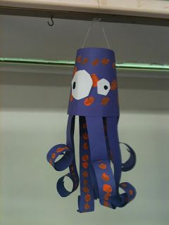 A Pout-Pout Fish (Deborah Diesen) Craft for the Classroom or for Home!