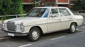 mercedes 280 diesel - my car I miss so much.  Best car ever!