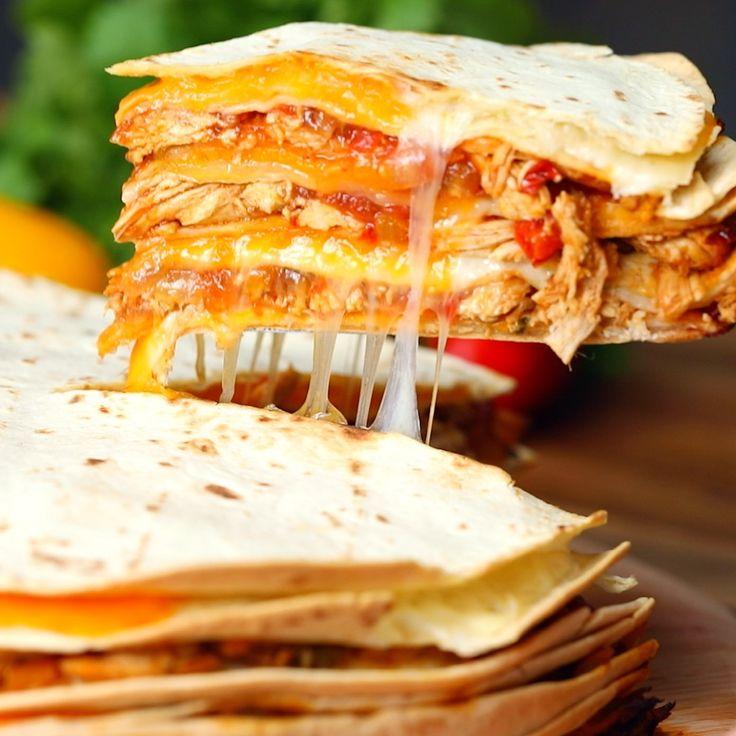Quesadilla Chicken Lasagna - Twisted