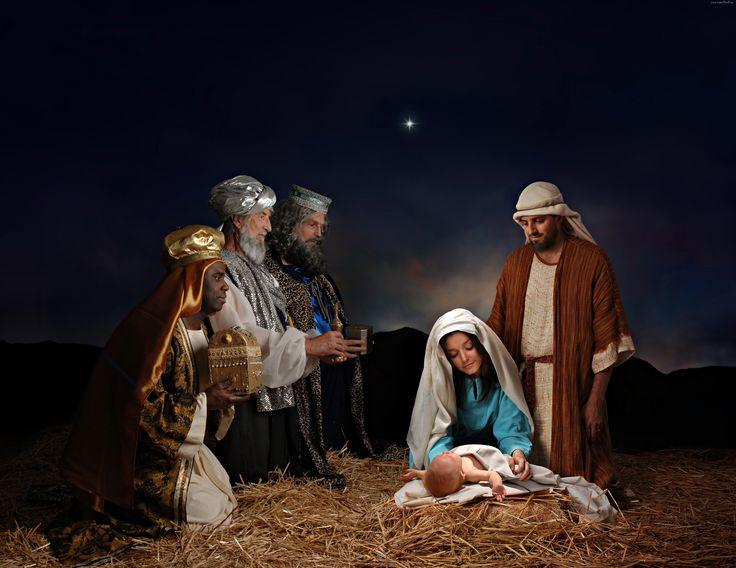 Szopka, Trzej, Królowie, Boże, Narodzenie