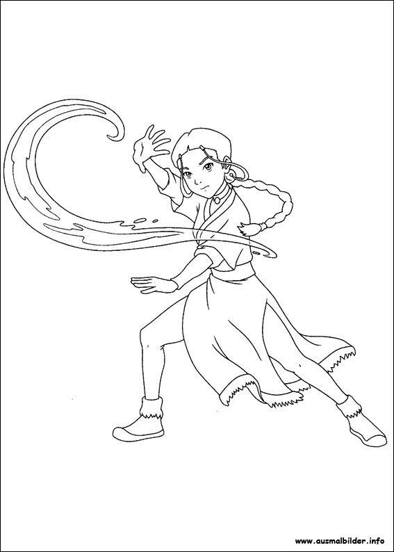 17 ideas about avatar der herr der elemente auf pinterest for Avatar the last airbender coloring pages