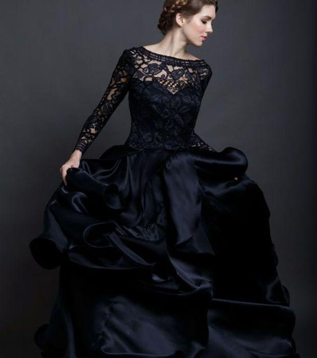 Robes de mariee noires