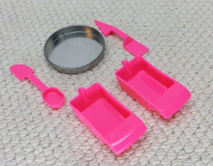 EASY BAKE OVEN Accessory LOT PAN PUSHER PANS cups Spoon Spatula Replacement part #Hasbro $9.99