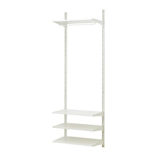 ALGOT Crémaillère/tablettes/barre - IKEA