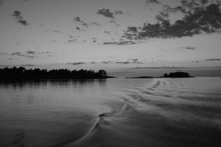 The waters of the Vänner Lake by Karine Bäckman