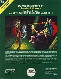 Tomb of Horrors (Or kill all characters stupid enough to enter this)