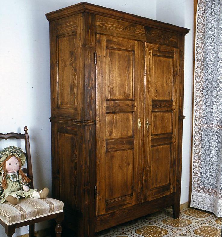Costruire un armadio in legno massello