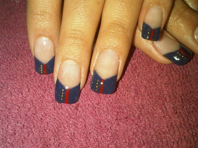 found this looking for military nail art