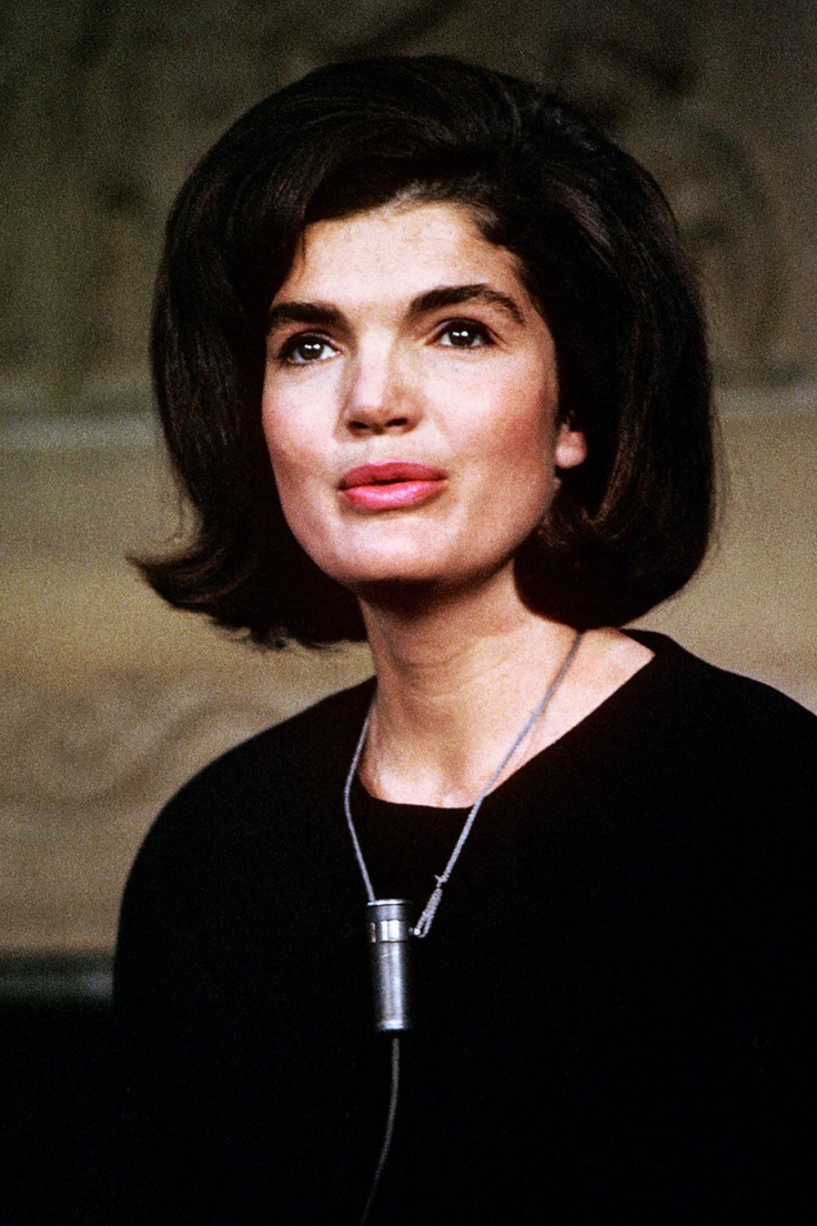 """Jackie Kennedy thanks the nation in 1964 for all of the cards and letters that she and the children received following the death of President Kennedy. She received """"nearly 800,000 in all"""", and she acknowledged each one personally, a project that took her 10 years to complete."""